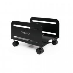 TooQ - Soporte metálico para CPU de suelo con ruedas