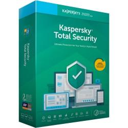 Kaspersky Lab - Total Security 2019 Licencia básica 5 licencia(s) 1 año(s) Español