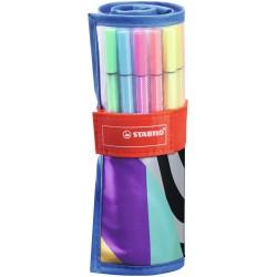 STABILO - 6825-07 rotulador Medio Multicolor 25 pieza(s)
