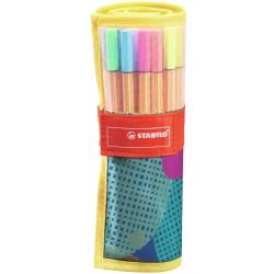 STABILO - 8825-07 rotulador Medio Multicolor 25 pieza(s)