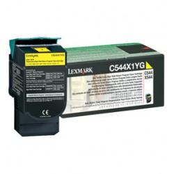 Lexmark - C544, X544 Yellow Extra High Yield Return Programme Toner Cartridge (4K) Amarillo