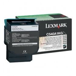 Lexmark - C54x, X54x Black Return Programme Toner Cartridge (1K) Negro