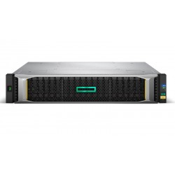 Hewlett Packard Enterprise - MSA 1050 unidad de disco multiple 4,8 TB Bastidor (2U) Negro, Acero inoxidable - 22197098