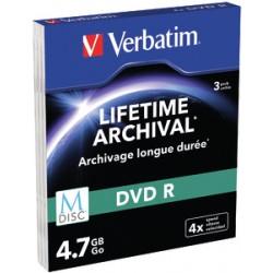 Verbatim - 4.7GB DVD-R 4,7 GB 3 pieza(s)