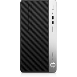 HP - ProDesk Pocítac 400 G6 Microtower 9na generación de procesadores Intel® Core™ i3 i3-9100 8 GB DDR4-SDRAM 256 GB SSD Negro P