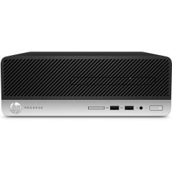HP - ProDesk 400 G6 i3-9100 SFF 9na generación de procesadores Intel® Core™ i3 8 GB DDR4-SDRAM 256 GB SSD Windows 10 Pro PC Negr