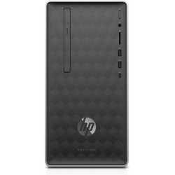 HP - Pavilion 590-a0015ns AMD E E2-9000 4 GB DDR4-SDRAM 1000 GB Unidad de disco duro Plata Mini Tower PC