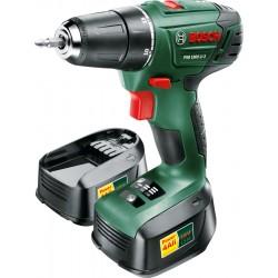 Bosch - PSR 1800 LI-2 Sin llave Negro, Verde, Rojo 1,2 kg