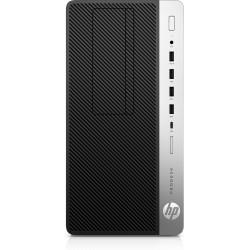 HP - ProDesk 600 G5 9500 Micro Tower 9na generación de procesadores Intel® Core™ i5 8 GB DDR4-SDRAM 256 GB SSD Windows 10 Pro PC