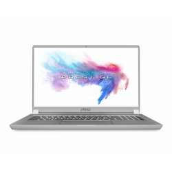 """MSI - P75 Creator 9SF-670ES Plata Portátil 43,9 cm (17.3"""") 1920 x 1080 Pixeles 9na generación de procesadores Intel® Core™ i9 64"""