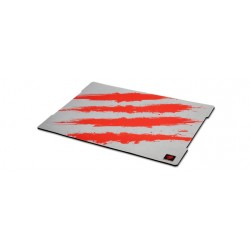 Mad Catz - G.L.I.D.E. 5 Gaming Surface Gris, Rojo