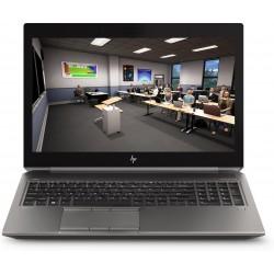 """HP - ZBook 15 G6 Estación de trabajo móvil Plata 39,6 cm (15.6"""") 9na generación de procesadores Intel® Core™ i7 16 GB DDR4-SDRAM"""