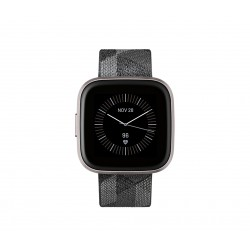 "Fitbit - Versa 2 reloj inteligente Negro, Gris AMOLED 3,55 cm (1.4"") - FB507GYGY"