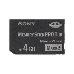 Sony - MSMT4GN 4GB MS Pro Duo memoria flash