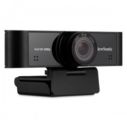 Viewsonic - 1080p ultra-wide USB camera with built-in microphones compatible with Windows and Mac,compatible for IFP5550 / IFP65