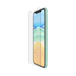 Belkin - SCREENFORCE Tempered Glass Protector de pantalla Teléfono móvil/smartphone Apple 1 pieza(s) - F8W948ZZ