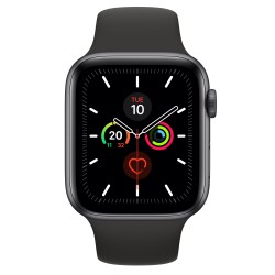 Apple - Watch Series 5 reloj inteligente Gris OLED GPS (satélite) - MWVF2TY/A
