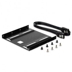 "Ewent - EW7007 panel bahía disco duro 8,89 cm (3.5"") Negro"