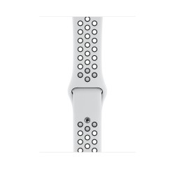 Apple - MX8F2ZM/A accesorio de smartwatch Grupo de rock Negro, Platino Fluoroelastómero