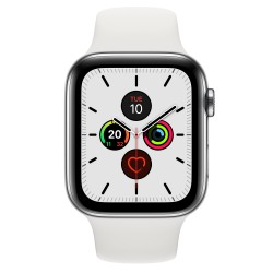 Apple - Watch Series 5 OLED 44 mm Acero inoxidable 4G GPS (satélite)