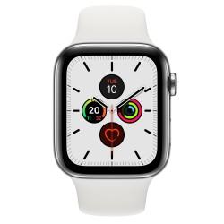 Apple - Watch Series 5 reloj inteligente Acero inoxidable OLED Móvil GPS (satélite) - MWWF2TY/A