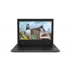 "Lenovo - 100e 2nd Gen Negro Portátil 29,5 cm (11.6"") 1366 x 768 Pixeles Intel® Celeron® 4 GB LPDDR4-SDRAM 128 GB eM"