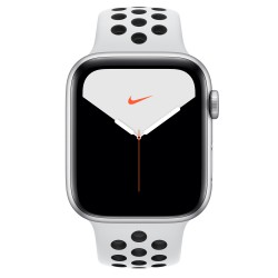 Apple - Watch Nike Series 5 OLED 44 mm Plata 4G GPS (satélite)