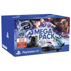 Sony - PlayStation VR Megapack Pantalla con montura para sujetar en la cabeza Negro, Blanco 600 g