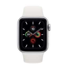 Apple - Watch Series 5 reloj inteligente Plata OLED Móvil GPS (satélite) - MWX12TY/A