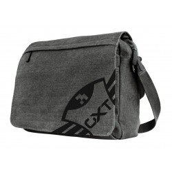 "Trust - GXT 1260 Yuni maletines para portátil 39,6 cm (15.6"") Bandolera Negro, Gris"