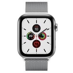 Apple - Watch Series 5 OLED 44 mm Acero inoxidable 4G GPS (satélite) - MWWG2TY/A