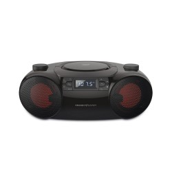 Energy Sistem - Boombox 6 Reproductor de CD portátil Negro