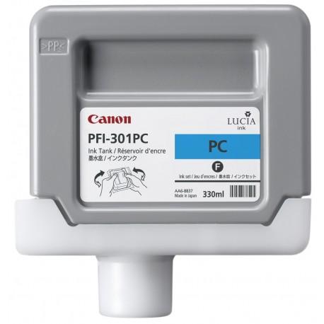 Canon - PFI-301PC Pigment Photo Cyan Ink Cartridge
