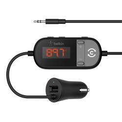 Belkin - F8Z880EA transmisor FM 3,5mm Negro