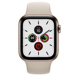 Apple - Watch Series 5 reloj inteligente Oro OLED Móvil GPS (satélite) - MWWH2TY/A