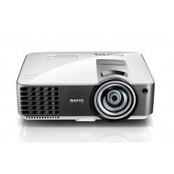 Benq - MX819ST Desktop projector 3000lúmenes ANSI DLP XGA (1024x768) 3D Negro, Plata videoproyector