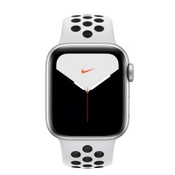 Apple - Watch Nike Series 5 OLED 40 mm Plata 4G GPS (satélite)