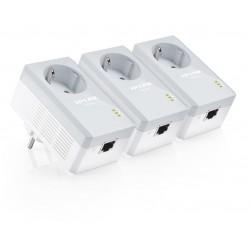 TP-LINK - TL-PA4010PT Kit 500Mbit/s Ethernet Blanco 3pieza(s) adaptador de red powerline