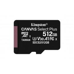 Kingston Technology - Canvas Select Plus memoria flash 512 GB SDXC Clase 10 UHS-I - SDCS2/512GB