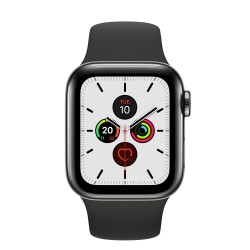 Apple - Watch Series 5 OLED 40 mm Negro 4G GPS (satélite)