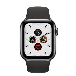 Apple - Watch Series 5 reloj inteligente Negro OLED Móvil GPS (satélite) - MWX82TY/A