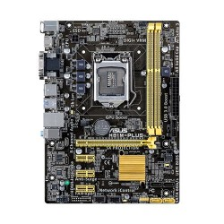 ASUS - H81M-PLUS Intel H81 LGA 1150 (Zócalo H3) Micro ATX