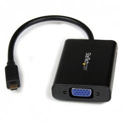 StarTech.com - Cable Adaptador Externo Conversor de Vídeo y Audio Micro HDMI a VGA - 1920x1200