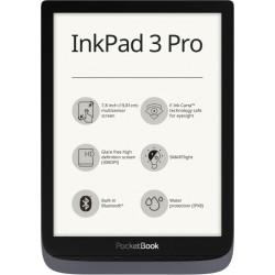 Pocketbook - InkPad 3 Pro lectore de e-book Pantalla táctil 16 GB Wifi Gris, Metálico