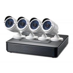 LevelOne - DSK-8001 kit de videovigilancia Alámbrico 4 canales
