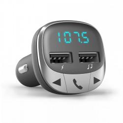Energy Sistem - 44826 transmisor FM 87,5 - 108 MHz Bluetooth Negro, Plata
