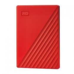 Western Digital - My Passport disco duro externo 4000 GB Rojo
