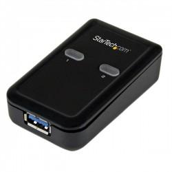 StarTech.com - Conmutador Interruptor Compartidor USB 3.0 Sharing Switch - 1 Periférico - 2 Ordenadores