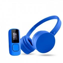 Energy Sistem - Music Pack Reproductor de MP3 Azul 8 GB