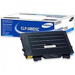 Samsung - CLP-500D5C Tóner de láser 5000páginas Cian tóner y cartucho láser